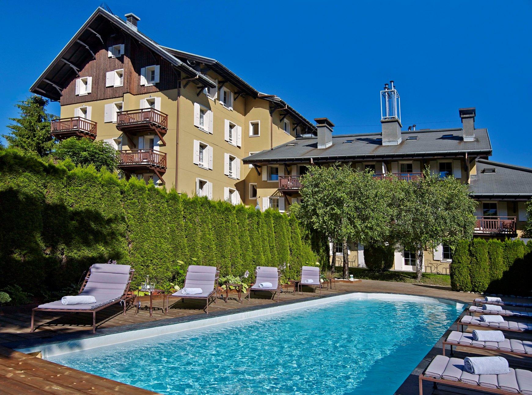 Alps meg ve france lodges park spa for Lodges in france