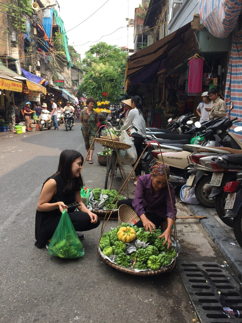 Hanoi Old quarter - vendors (4)